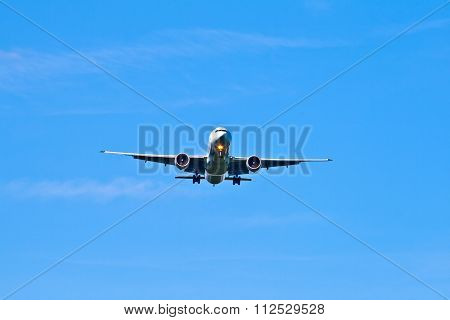 Aircraft In Landing Approach