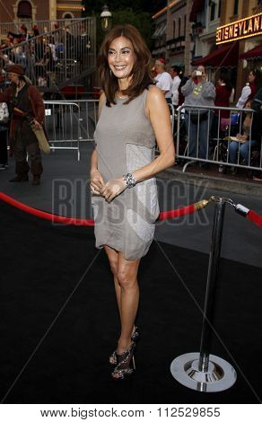 DISNEYLAND, CALIFORNIA - May 7, 2011. Teri Hatcher at the World premiere of
