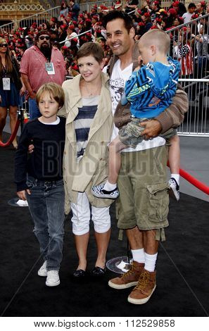 DISNEYLAND, CALIFORNIA - May 7, 2011. Natalie Maines at the World premiere of