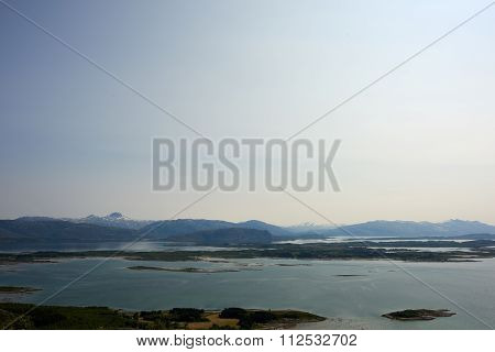 Norwegian Sea And Mountains - Helgeland
