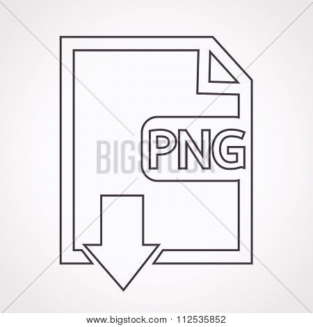an images of File type PNG icon