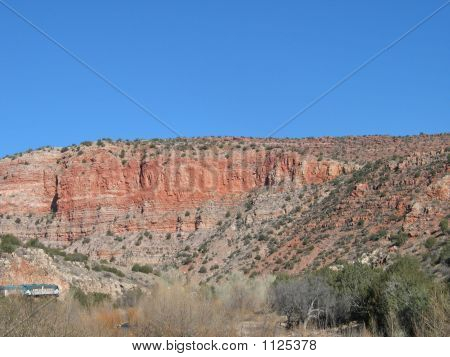 Verde Valley And Train