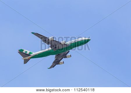 Eva Air 747 Cargo Jet