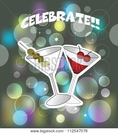 Celebration martini