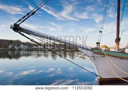 Bowsprit and Blue Sky