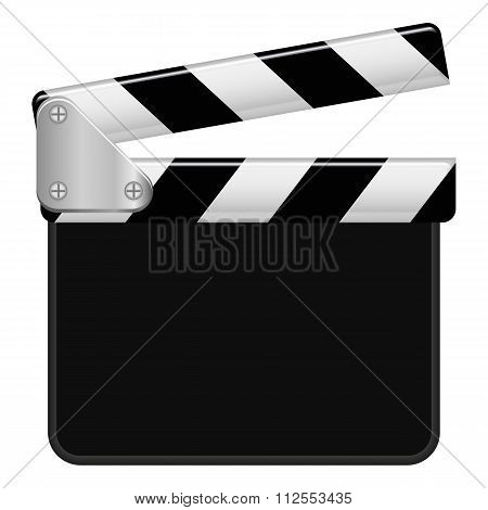 Illustration Vector Graphic Clapperboard With Copyspace