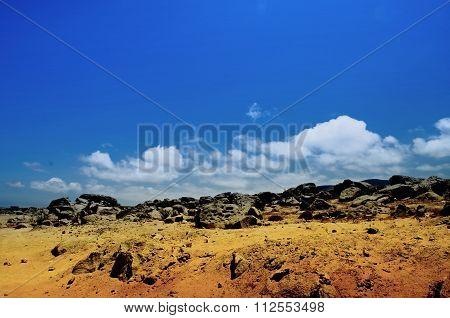 desertic place