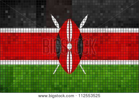 Flag Of Kenya.eps