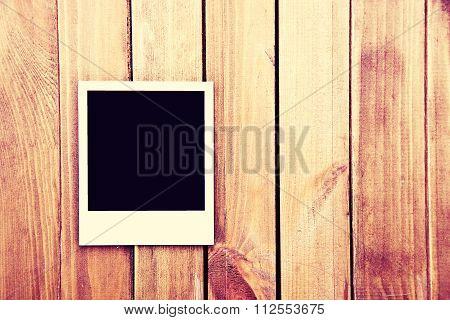 Instant Blank Photo Frame.