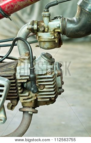 Motorcycle Engine In The 1990