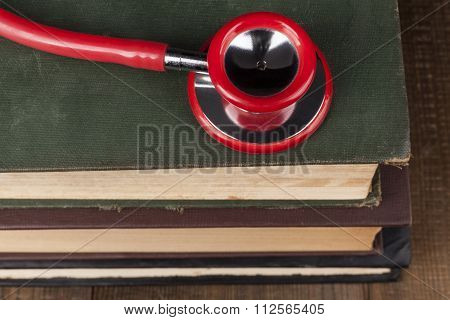 Red Stethocope Closeup