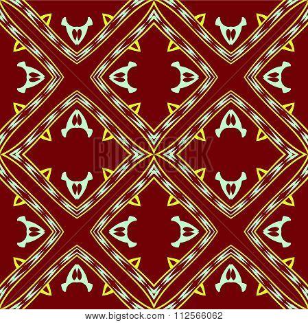 Vibrant Geometric Pattern