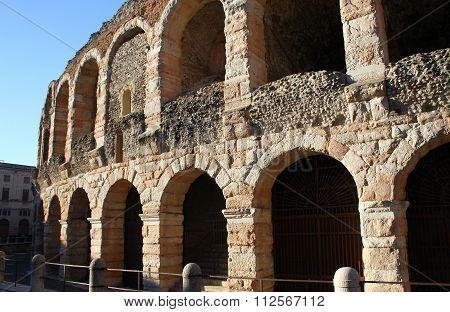 Arena of Verona. Verona, Italy