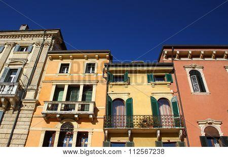 Houses in Verona, Italy