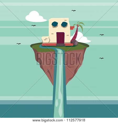 Floating Island Fantasy