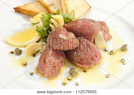 Veal Steak Tartar