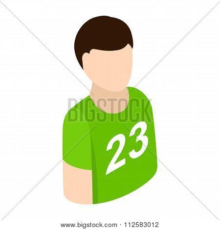 Sportsmen isometric 3d icon