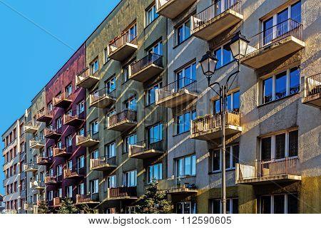 Ordinary residential blocks