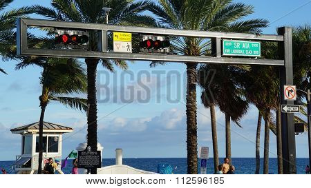 Fort Lauderdale Beach in Florida
