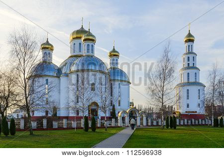 The Holy Resurrection Cathedral In Brest, Belarus