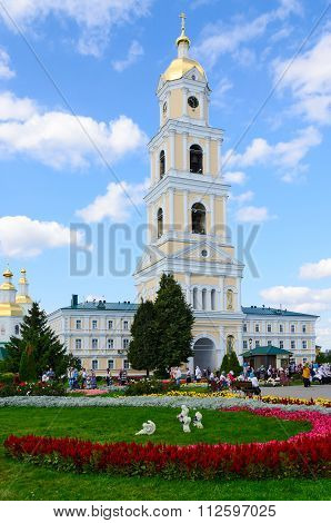 Belfry On Territory Of Holy Trinity Seraphim-diveevo Monastery, Diveevo, Russia