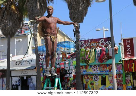 Muscle Beach In Venice Beach, In Los Angeles, Califonia, Usa