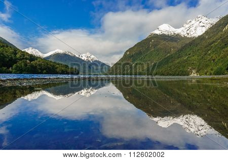 Reflection in the Milford Sound