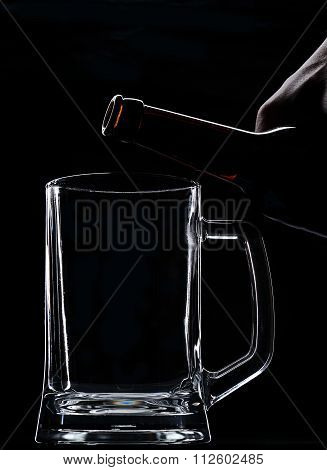 Put Beer In Glass