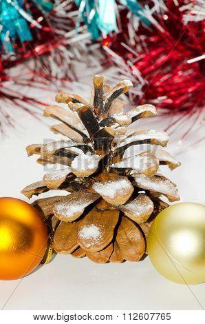 Christmas pine cone