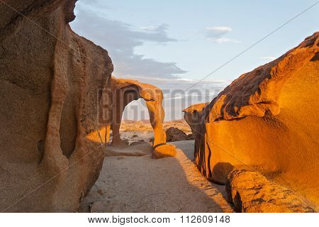 Granite rock formations, namibia