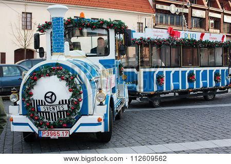 Vilnius Christmas Train