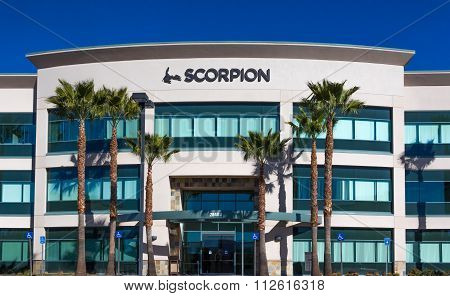 Scorpion Headquarters And Logo