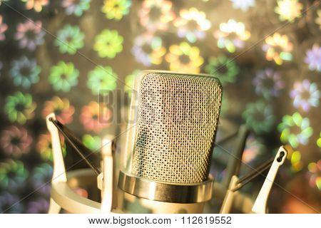 Audio Recording Vocal Studio Voice Microphone