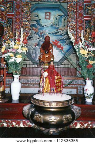 Sacred Image on an Altar