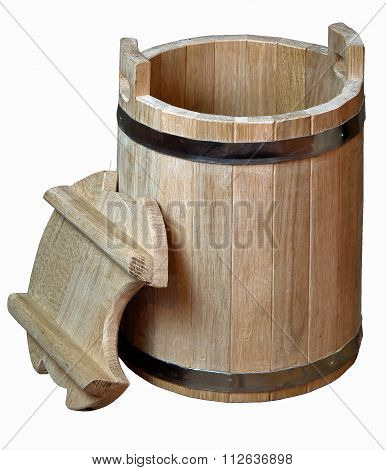 manufacture of wooden barrels in the factorymanufacture of wooden barrels in the factory