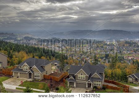Happy Valley Residential Homes In Fall