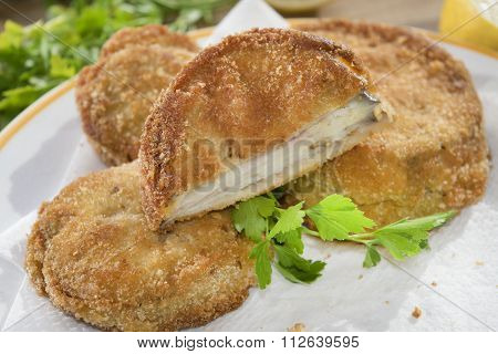 Fried Mozzarella In Carriage