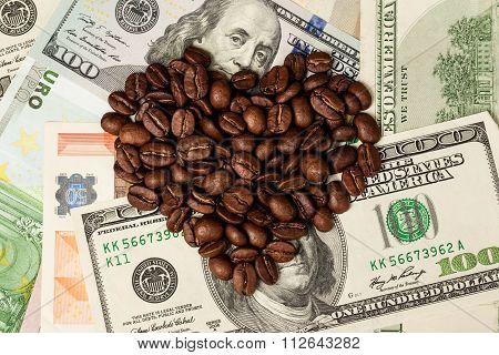 Heart of coffee