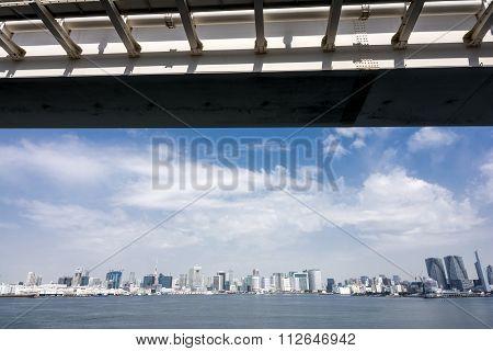 Panoramic view of gulf