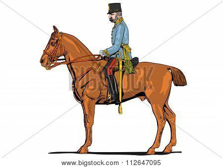 The Great War soldier on horseback