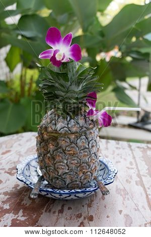 Icy Pineapple Drink