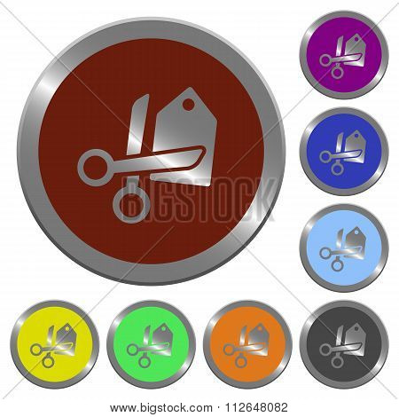 Color Price Cut Buttons