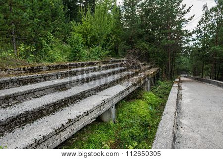 Old Bobsleigh Track