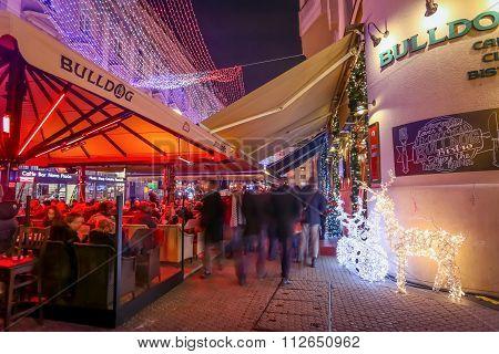 Bulldog Cafe In Zagreb