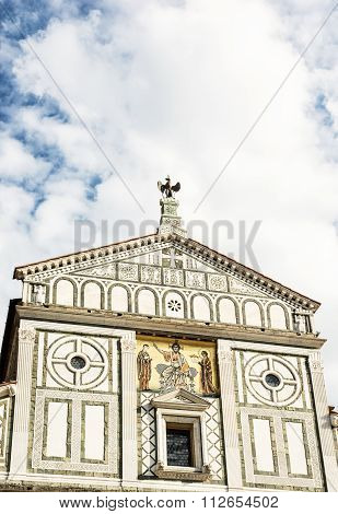 Basilica San Miniato Al Monte, Florence, Tuscany, Italy, Cultural Heritage