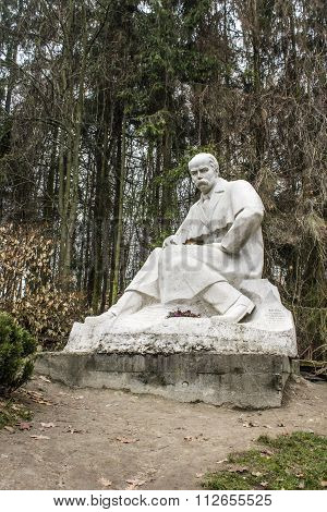 Monument To Taras Shevchenko In Lviv