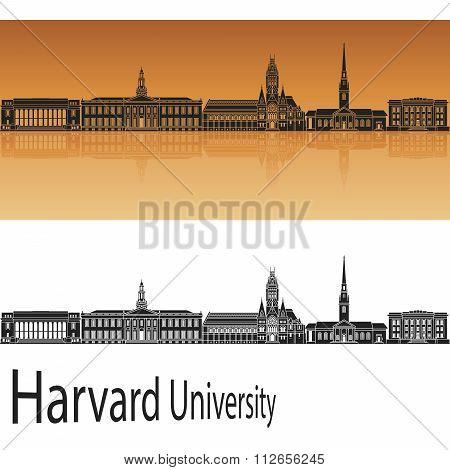 Harvard University Skyline