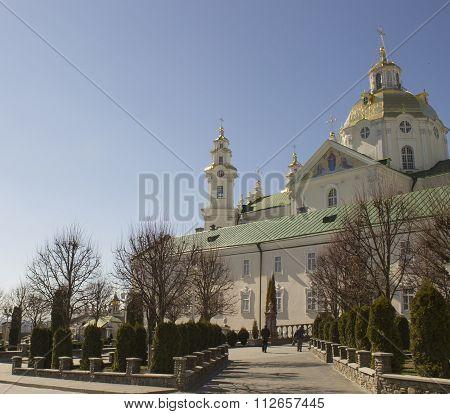 Orthodox Church In Pochaev Lavra, Ukraine