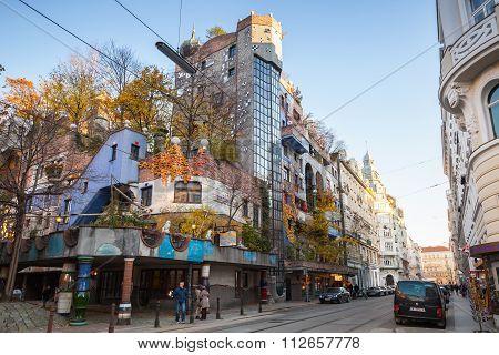 Hundertwasser House, Vienna, Popular Landmark