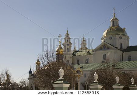 Pochayiv Lavra, Facade Of The Church, Its Dome